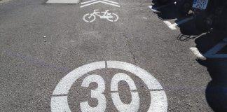 Carril bici i zona 30 a Palafrugell | Imatge del consistori