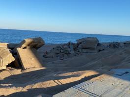 Runa a la platja de Platja d'Aro en una imatge cedida per SOM Castell-Platja d'Aro a Ràdio Capital