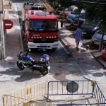 Fuita de gas al carrer Santa Marta de Palamós | Imatge de Rosa Maria Medir Huerta