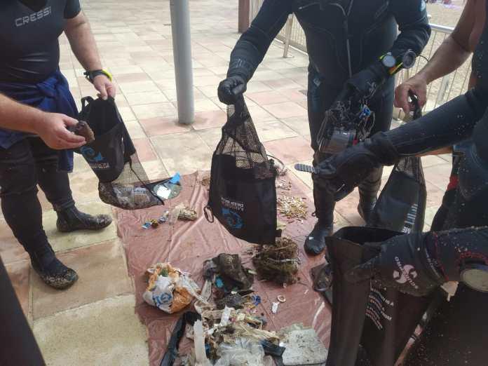 Imatge del rebuig recollit a Llafranc | Imatge de l'Ajuntament de Palafrugell