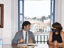 Puigneró presenta projectes fibra òptica