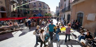 Festa del vi nou a la població de Calonge | Imatge de Martí Artalejo