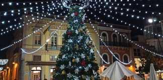privat:-primer-arbre-de-nadal-a-placa-nova