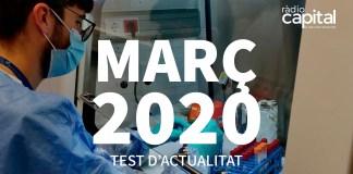 Què va passar al març 2020 al Baix Empordà? Posa't a prova amb el test d'actualitat de Ràdio Capital de l'Empordà