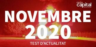 Què va passar al novembre 2020 al Baix Empordà? Posa't a prova amb el test de les notícies més importants de Ràdio Capital de l'Empordà