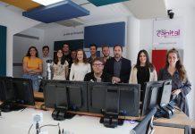 Part de l'equip de Ràdio Capital a l'estudi