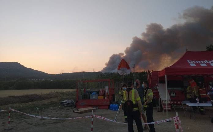Incendi al massís de Torroella de Montgrí - Ràdio Capital de l'Empordà