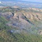 Incendi del massís del Montgrí des de l'aire - Agents Rurals