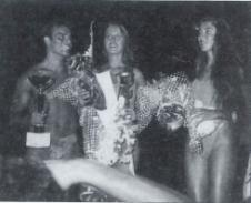 """Elecció de Miss i Míster Internacional a Palm Beach, l'any 1989. // Publicat a """"Àncora"""", el 17 d'agost de 1989"""
