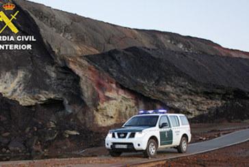 Almonaster la Real | La Guardia Civil ha detenido a un varón que hurtó las baterías de un refugio minero