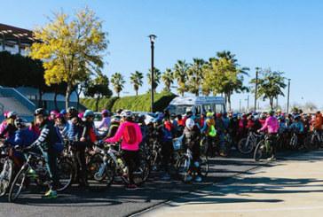 Cerca de 500 escolares cartayeros participan en el 'Día Escolar de la Bicicleta'