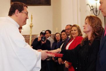 Consolación Pereles toma posesión como presidenta de la Hermandad de San Isidro
