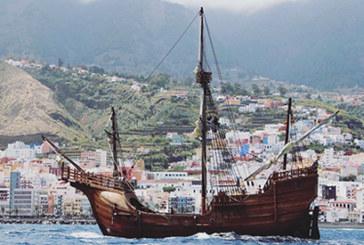 La réplica de la Santa María partirá desde Canarias hacia tierras americanas, donde visitará al menos 15 puertos