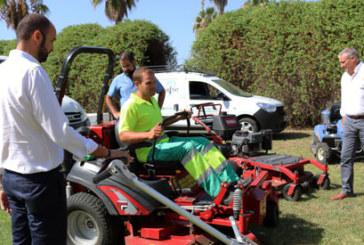 Cartaya Informa | Presentación nueva Maquinaria para Jardines