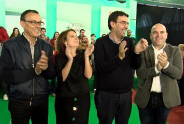 Mario Jiménez, número uno por Huelva al Parlamento Andaluz visita Cartaya