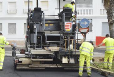 El Ayuntamiento invierte 580.000 euros en la reparación de una treintena de calles