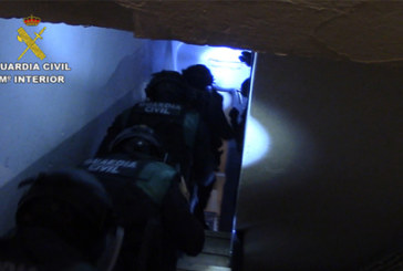 """La Guardia Civil desarticula una organización delictiva itinerante especializada en """"alunizajes"""""""