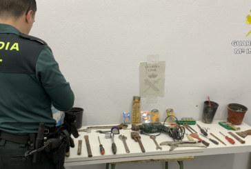 Gibraleón | La Guardia Civil detiene a dos varones por un robo perpetrado en una casa de la localidad