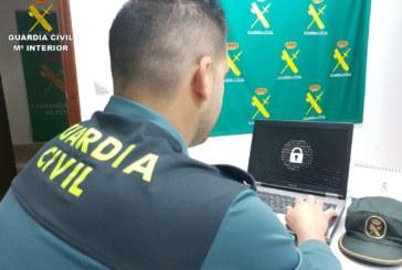 La Guardia Civil detiene a un varón que estafó 55.000€ a través de internet con el método phising