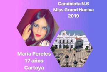 La joven cartayera María Pereles, seleccionada para Miss Grand Huelva 2019