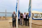Cartaya mantiene la Bandera Azul de la Playa de San Miguel
