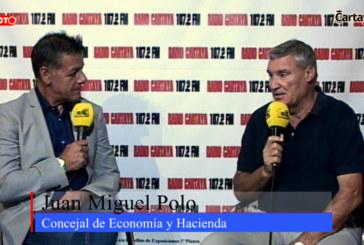 56ª Feria de Octubre de Cartaya – Juan Miguel Polo, Concejal de Economía y Hacienda
