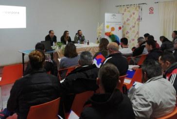 Jornada de fomento de la cultura emprendedora en el Centro Terapéutico Valle Salado, en Cartaya