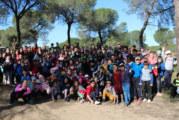 Los escolares cartayeros dan ejemplo y aprenden a cuidar el Campo Común de la localidad