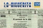 El periódico 'La Higuerita' cumple 105 años ininterrumpidos