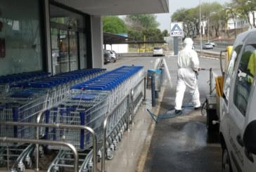 El ayuntamiento de Cartaya desarrolla una campaña para la desinfección en todo el termino municipal
