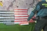 La Guardia Civil interviene 1200 cajetillas de tabaco procedentes del contrabando en las localidades de Almonte y en Palos de la Frontera