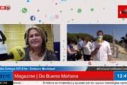 Visita de la Delegada Territorial de Turismo Mª Ángeles Muriel al Caño de la Culata