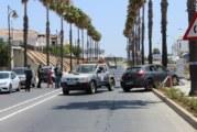 Llamamiento municipal a la tranquilidad ciudadana tras el suceso registrado en la Avenida de El Rompido, a la salida del casco urbano de Cartaya
