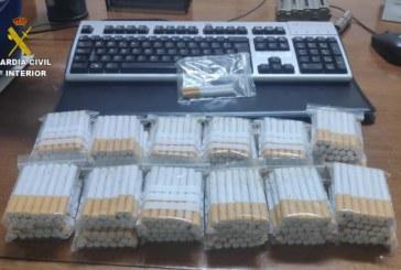 La Guardia Civil relaciona a una persona con la venta ilegal de tabaco en Calañas y pueblos colindantes