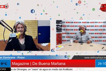 Radio Cartaya   Juan Zambrano expone sus pinturas en el Centro Cultural de la Villa