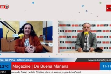 Radio Cartaya | El oftalmólogo Gil Piña abre su clínica en Lepe