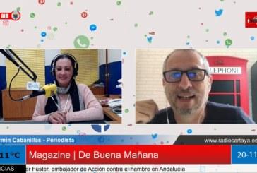 Radio Cartaya | El periodista Fermín Cabanillas presenta su primer libro
