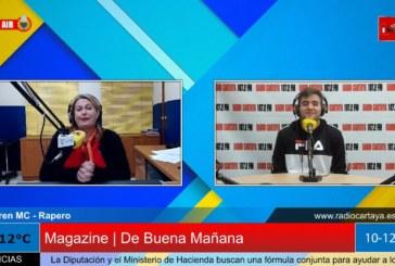 """Radio Cartaya   El catayero Loren Mc, nos presenta su tema """"Ojalá"""""""