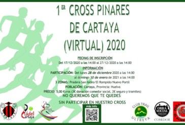 Activa la primera edición de Cross Virtual Pinares de Cartaya