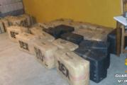Aljaraque   La Guardia Civil interviene una gran cantidad de hachís en el término municipal