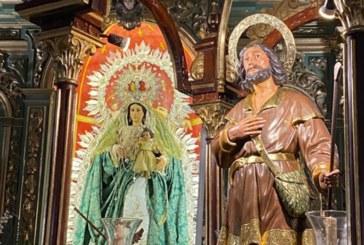 La Hdad. de San Isidro Labrador de Cartaya comunica que ya el santo se encuentra en la parroquia