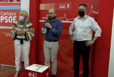 Cartaya Tv | El candidato a las Primarias del PSOE-A, Juan Espadas visita Cartaya