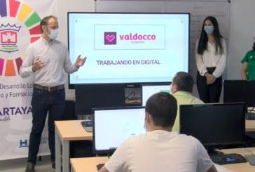 Cartaya Tv | Ayuntamiento y la Fundación Valdocco ponen en marcha un curso de Competencias Digitales