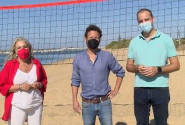 Cartaya Tv | Las playas de San Miguel y el Caño de la Culata estrenan instalaciones deportivas