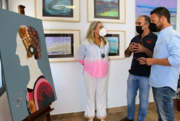 El Rompido acoge la exposición de pintura 'marEpoca' de Pedro Roldán