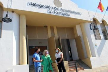 La Delegación permanente de El Rompido acoge una nueva oficina de Gestión Tributaria