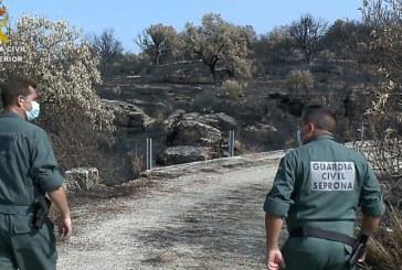 Hinojos | La Guardia Civil detiene a un varón por un incendio forestal intencionado producido en la localidad