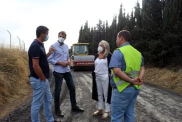 El Ayuntamiento de Cartaya acomete la reparación y mejora de los caminos rurales de zahorra