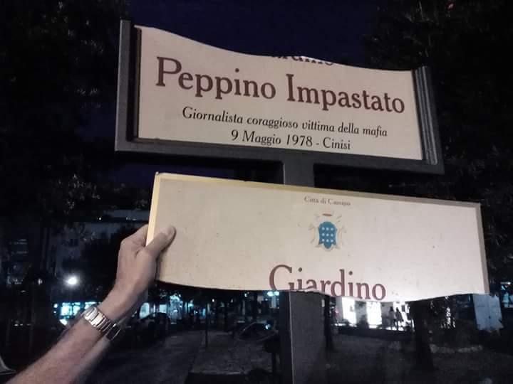 Targa Peppino Impastato