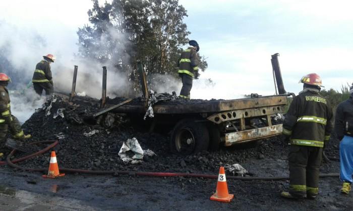 Choque de camiones en Ancud deja a una víctima fatal